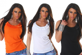 Kaunis lipsudega top FahleFashion e-poes -50%